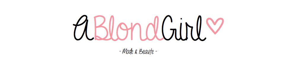 A Blond Girl