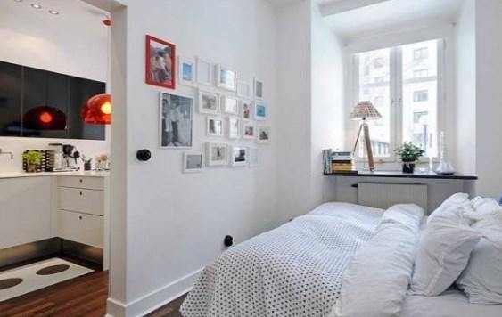 Pienen makuuhuoneen sisustaminen