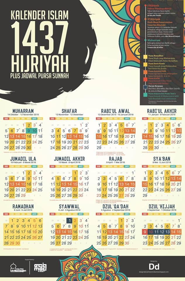 ... Anda download kalender puasa sunnah lengkap tahun 2016 berikut ini