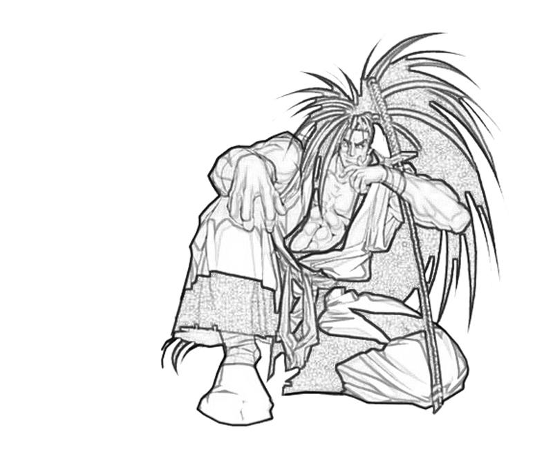 haohmaru-sitdown-coloring-pages