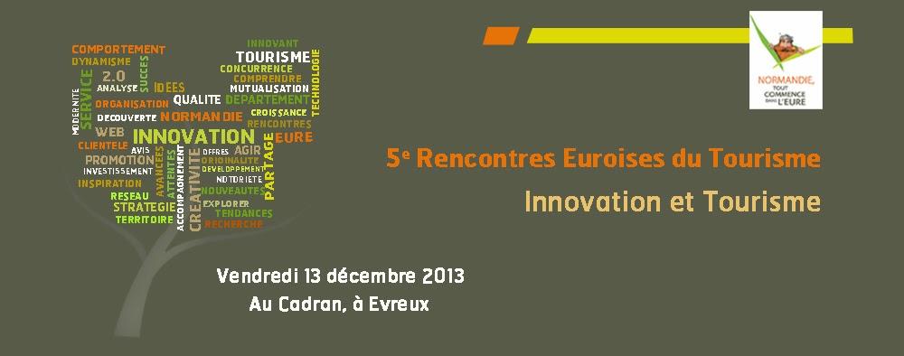 5e Rencontres Euroises du Tourisme - Vendredi 13 Décembre 2013