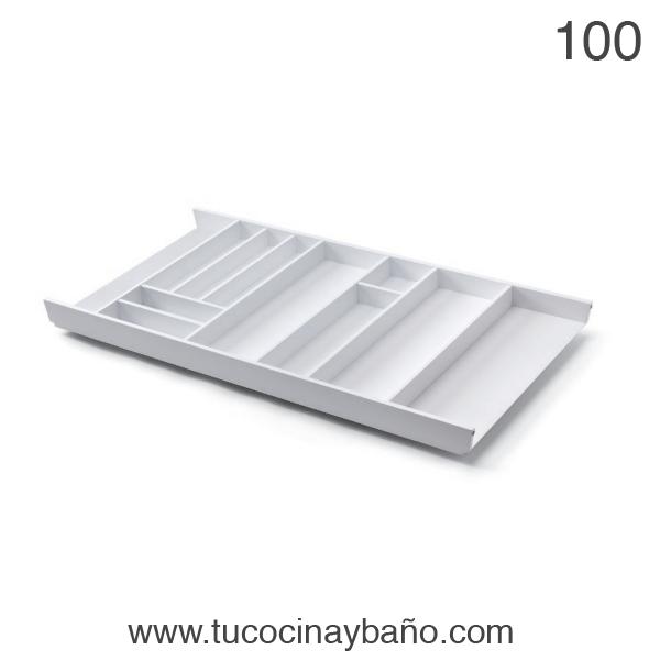 cubertero cajon cocina 100 blanco