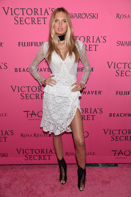Fashion Model @ Romee Strijd - Victoria's Secret Fashion Show After-Party in NYC