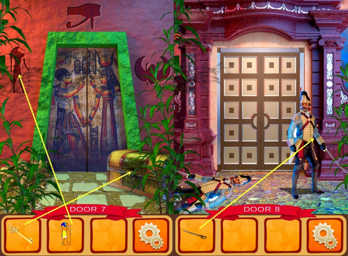 100 Doors World of History Level 6 7 8 9 10 Solution