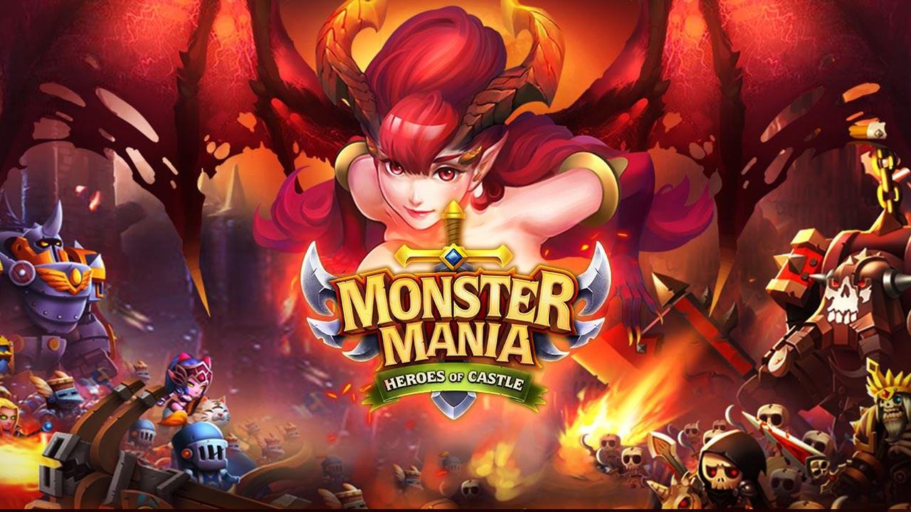 Monster Mania: Castle Heroes Gameplay IOS / Android
