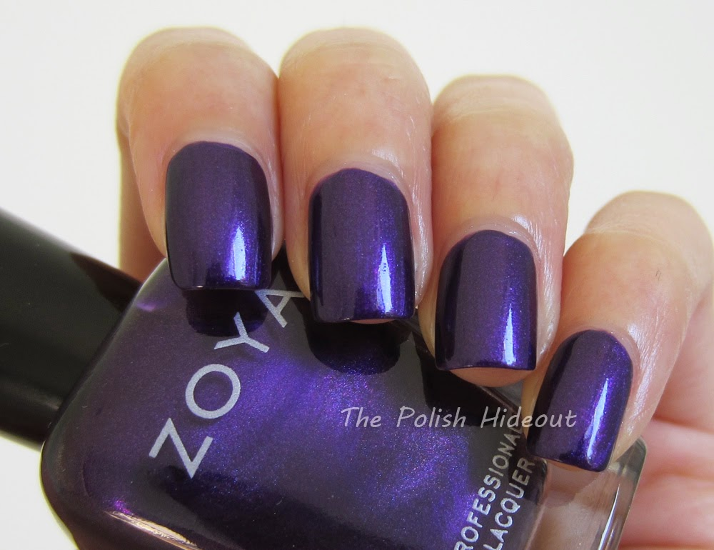 Royal Purple Color Swatch Belinda was originally