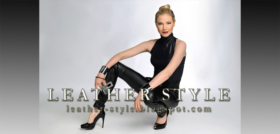 Leather style, latex couture, vinyl fashion: designers, photographers, models, magazines, editorials
