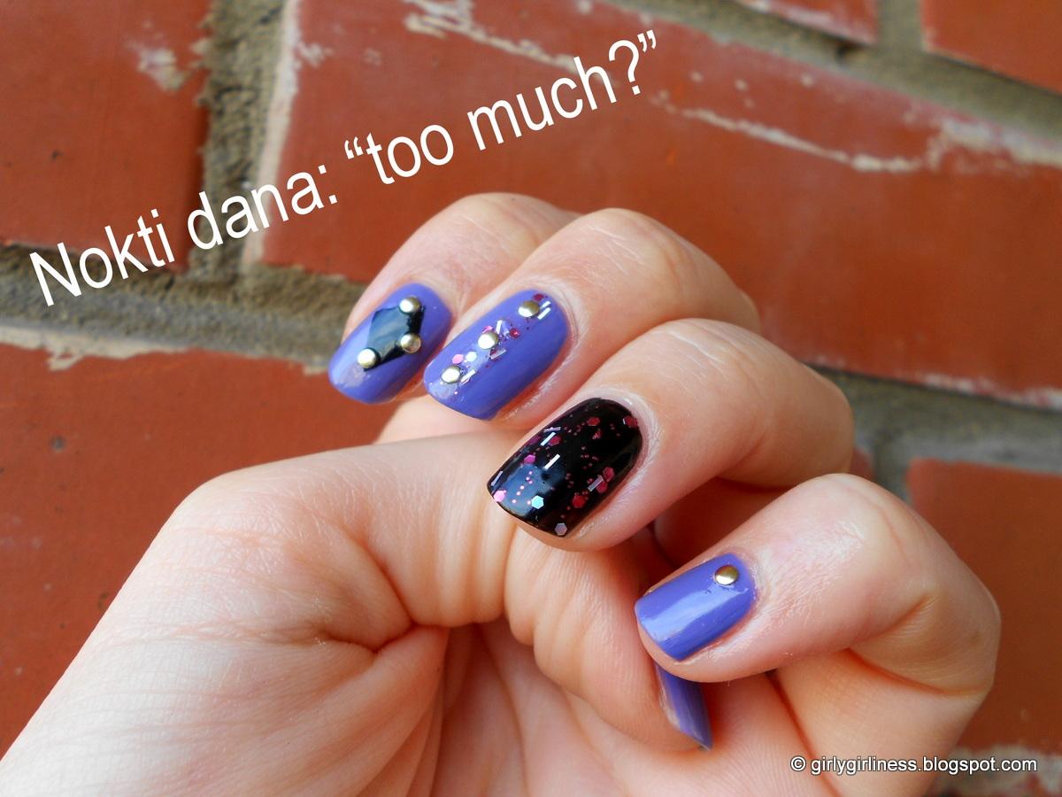 šljokice za nokte