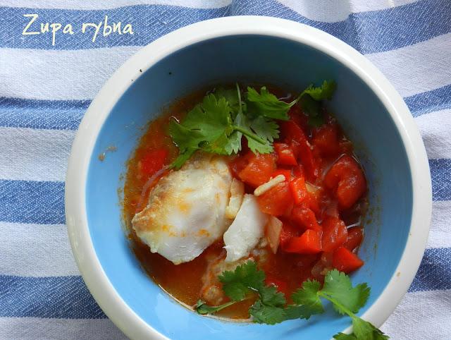 Zupa rybna - hiszpańska caldo de pescado