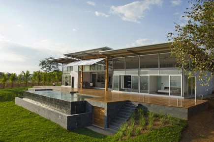 decorating ideas Casa Moderna Para Climas Tropicais