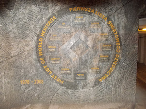 UNESCO Certification of the World's First list of Heritage sites imprinted at 130 meters in mine.