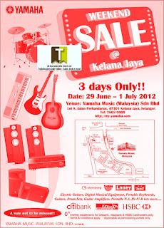 Yamaha Weekend Warehouse Sale