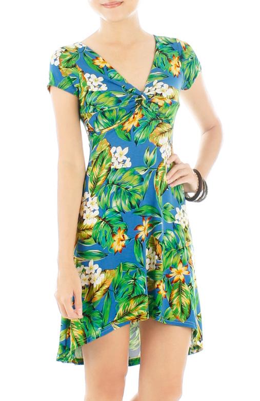 Fresh Tropics Sundress – Yellow Flowers
