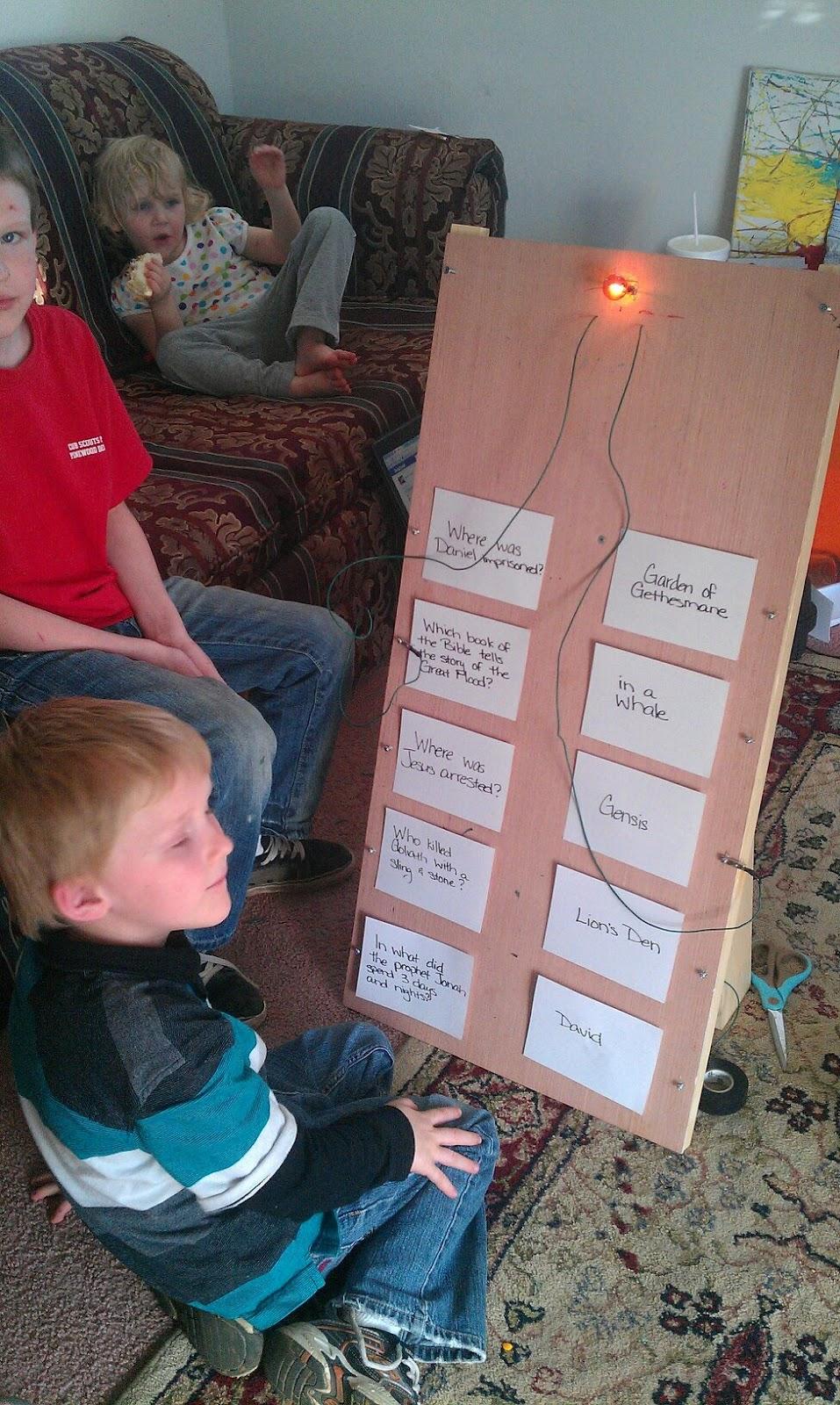 Sweet Designs Diy Electronic Quiz Board Build Circuit Online