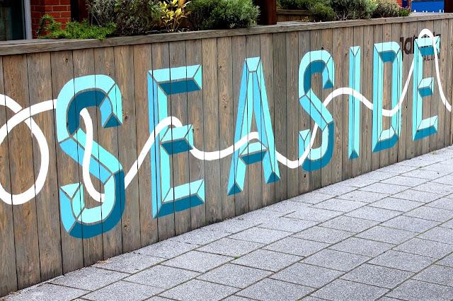 seaside font