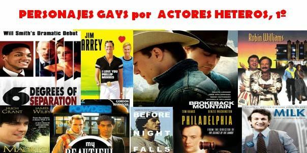 Personajes gays interpretados por actores heteros, 1