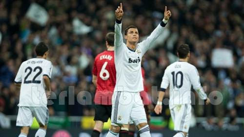 Real Madrid VS MU 14 Februari 2013