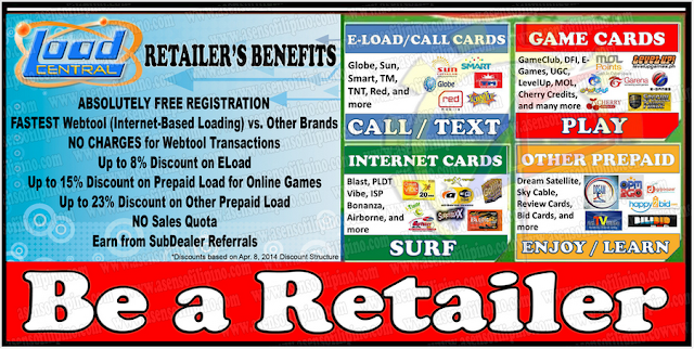 How to become a Load Central Retailer?