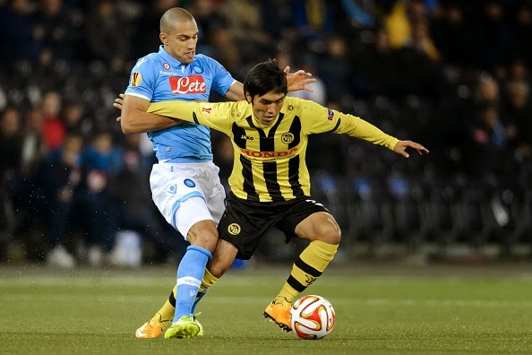 VIDEO Young Boys Napoli 1-0 Gol Highlights Europa League.