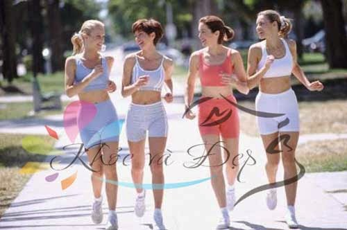 Luyện tập đi bộ để có sức khỏe tốt