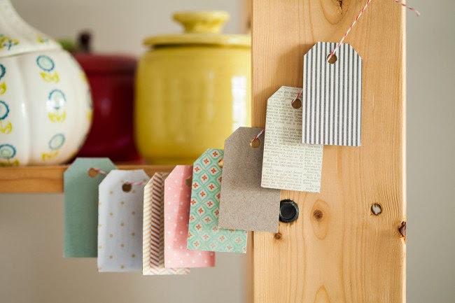 Etiquetas para regalos de cartón reciclado en Recicla Inventa