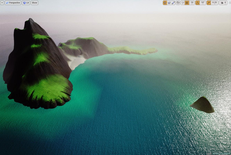 Island landscape result 4