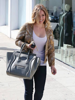 Hilary Duff — Shopping in Beverly Hills