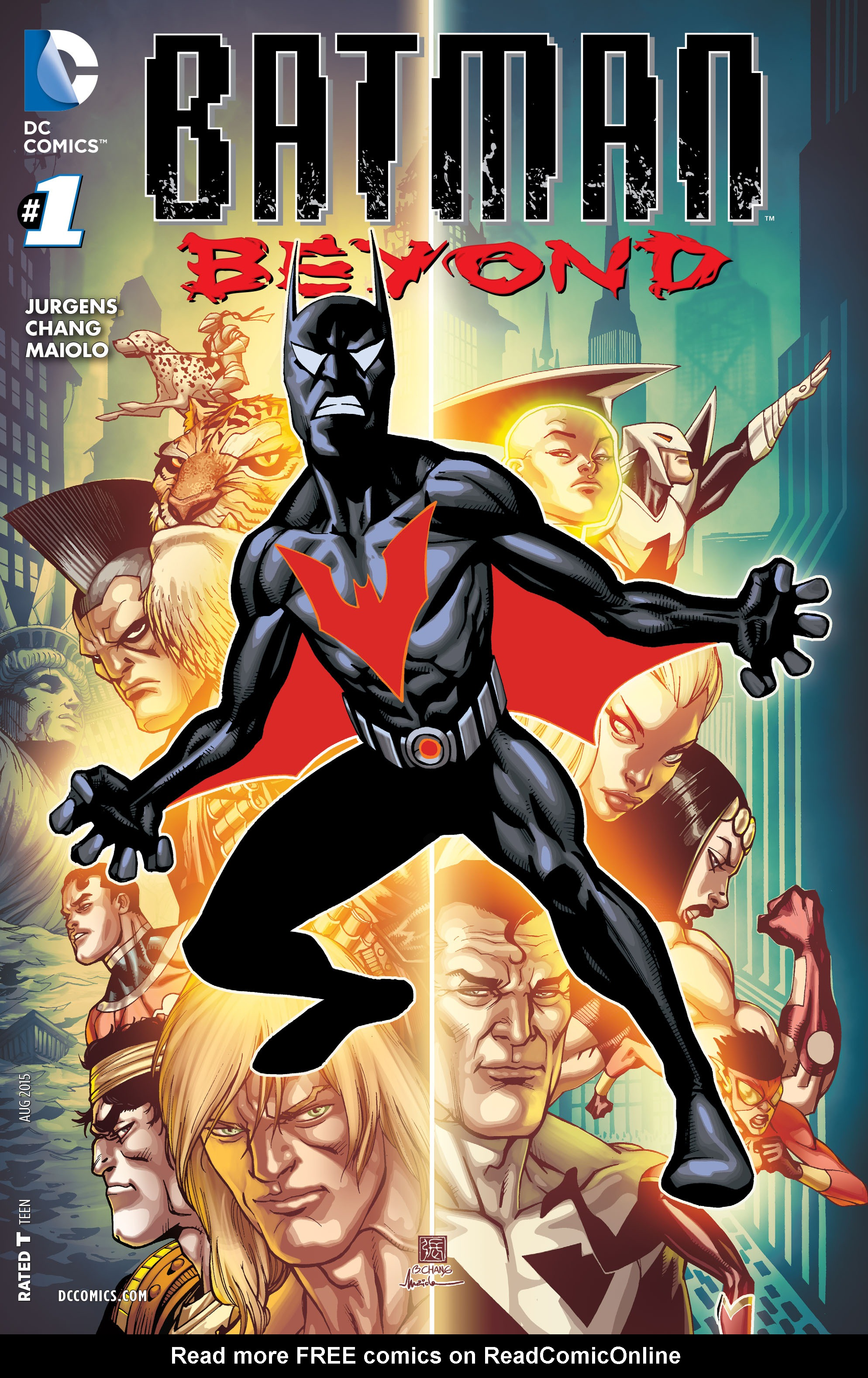 Batman Beyond (2015) Issue #1 #1 - English 1