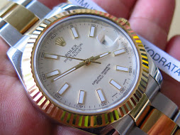 ROLEX OYSTER DATEJUST II 41mm - ROLEX 116333 TWO TONE - SERIAL G YEAR 2012