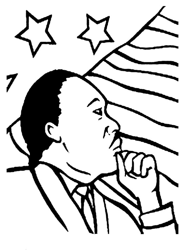 Coloring pages of martin luther king jr best coloring for Martin luther king jr coloring pages