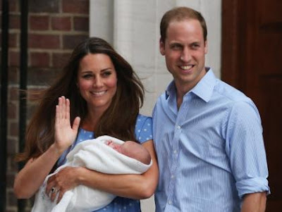 Prince William and Princess Catherine Appear with The Royal Baby
