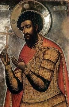 Sfantul Teodor Stratilat praznuit de Biserica Ortodoxa pe 8 februarie