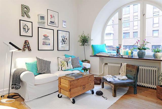 Decoracion Living Departamento ~ Mania de Casa & Decora??o Caixotes inspire se para decorar !