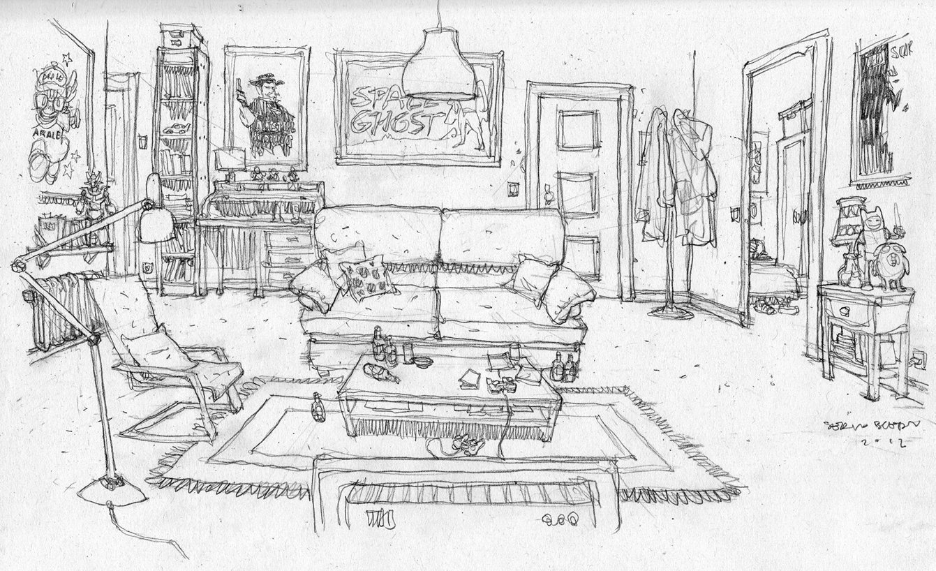Ilustraciones sueltas chulas encontradas por el internete - Página 4 Bocetocasa