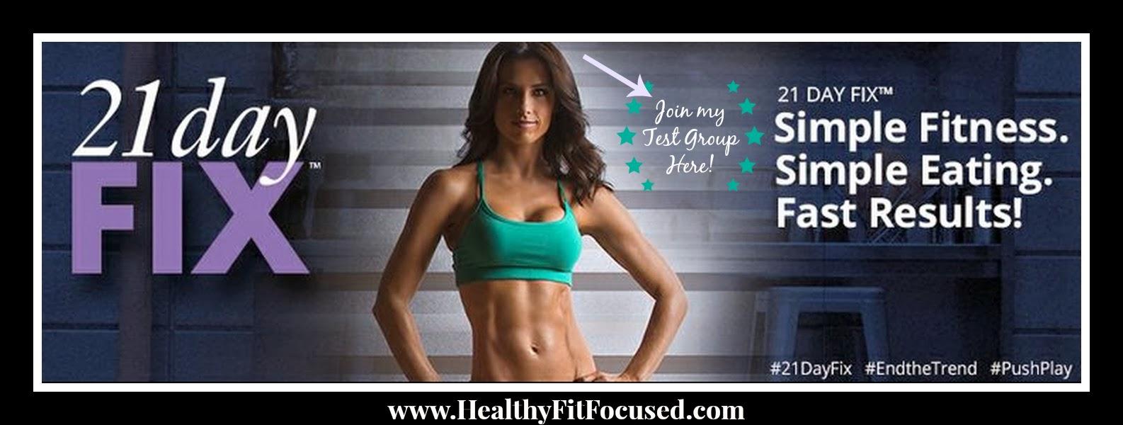 21 Day Fix, 21 Day Fix Menu, www.HealthyFitFocused.com