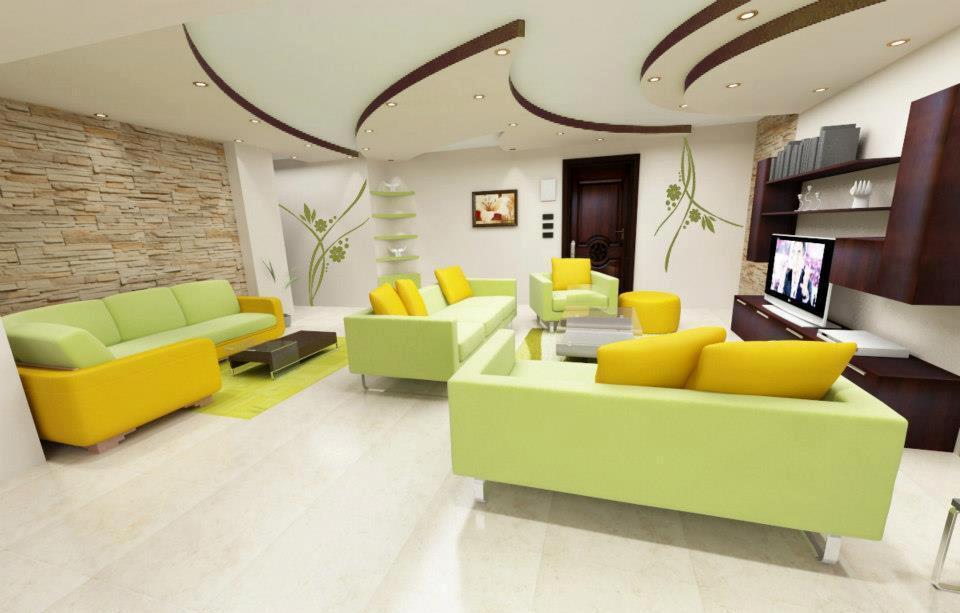 Decorazioni d 39 interni personalizzate pitture e colori pareti for Foto interni case moderne