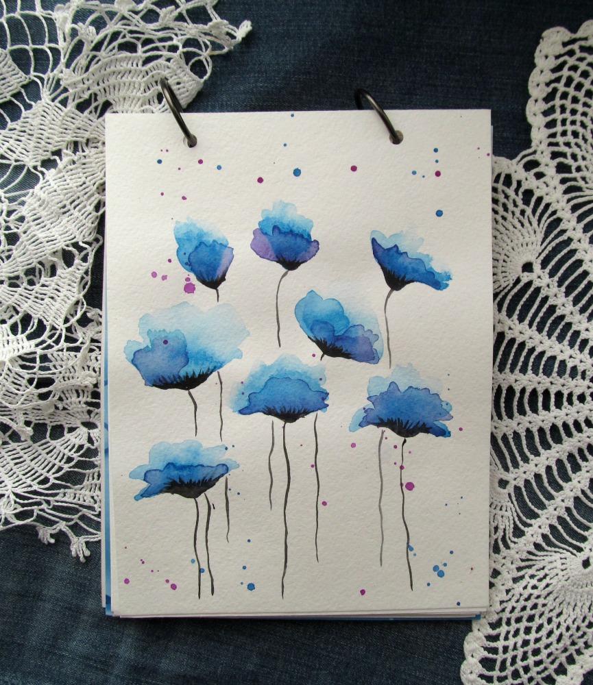 Маленькие акварельные открытки