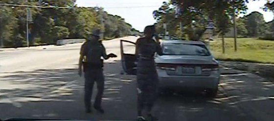 This man with a gun and a badge went berserk when Sandra Bland refused to act like a docile slave.