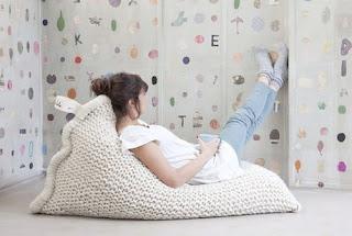 вязаная кровать