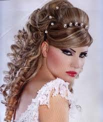 Modelo De Peinado Cabello Suelto Y Con Rulos Maquillajes Y
