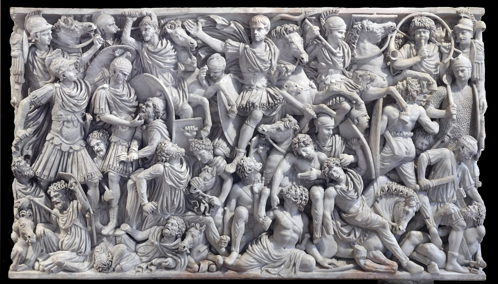 The Ludovisi Battle Sarcophagus