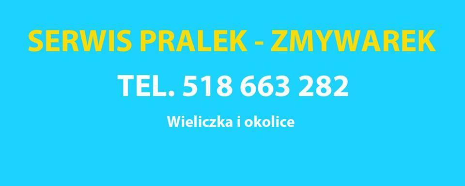 SERWIS PRALEK - ZMYWAREK - WIELICZKA I OKOLICE