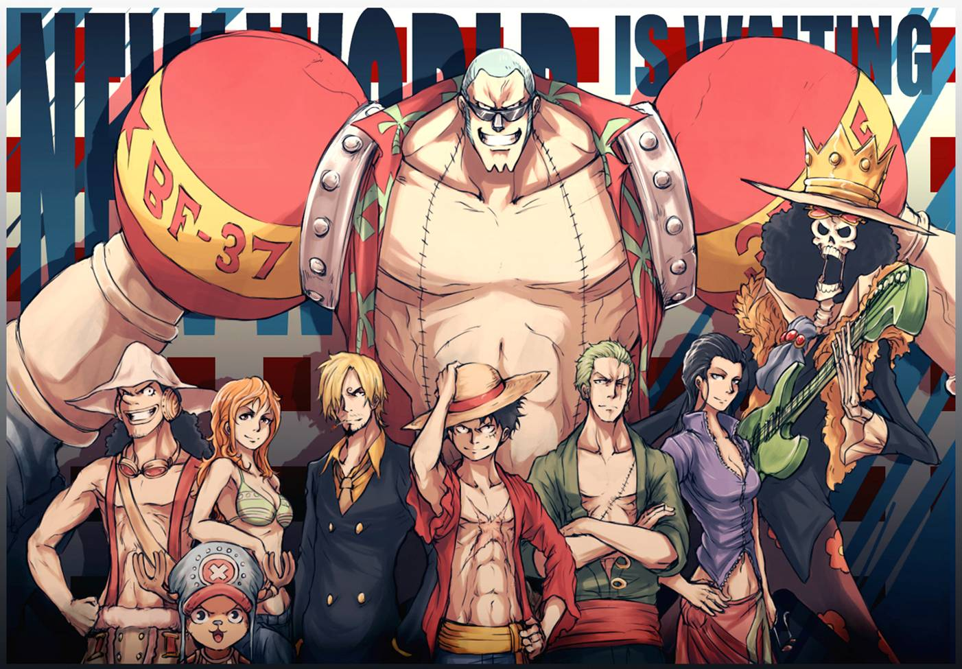 Straw Hats One Piece New World Is Waiting