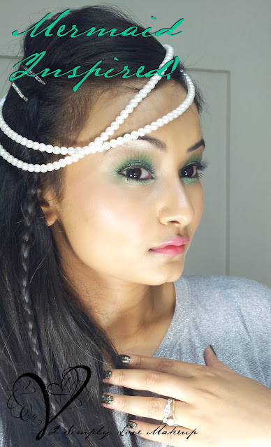Summer Makeup with Pastel Shades