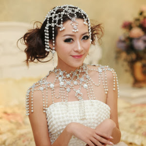 Accessories For Wedding Dresses 7 New Pearl accessories bridal