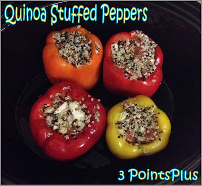 veggie and quinoa stuffed peppers