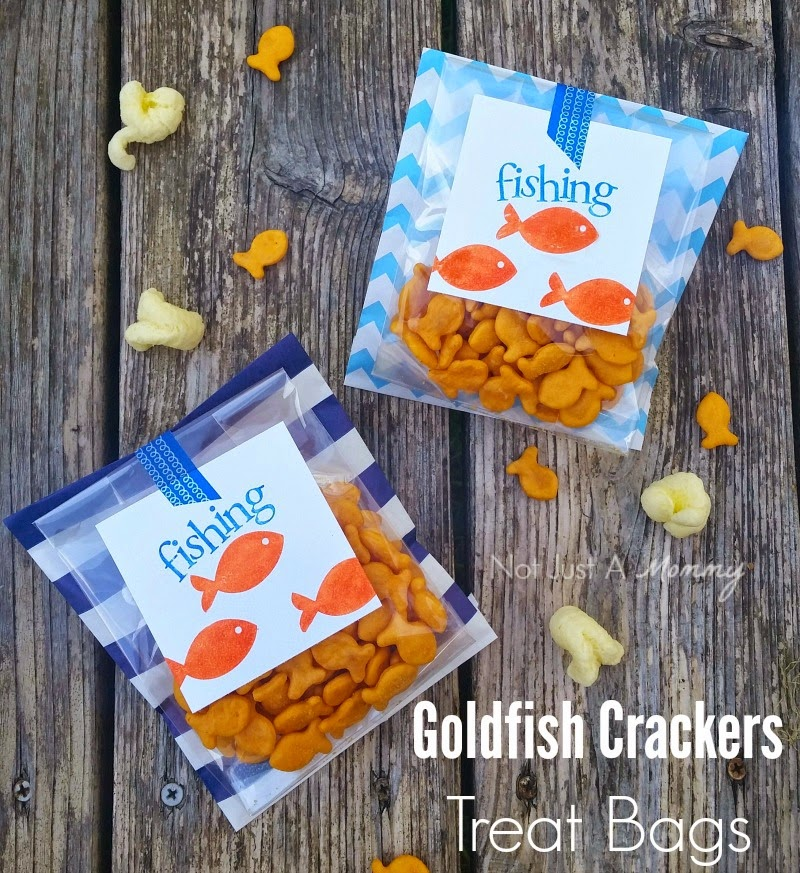 Tuesday Tutorial - Goldfish Crackers Snack Bags