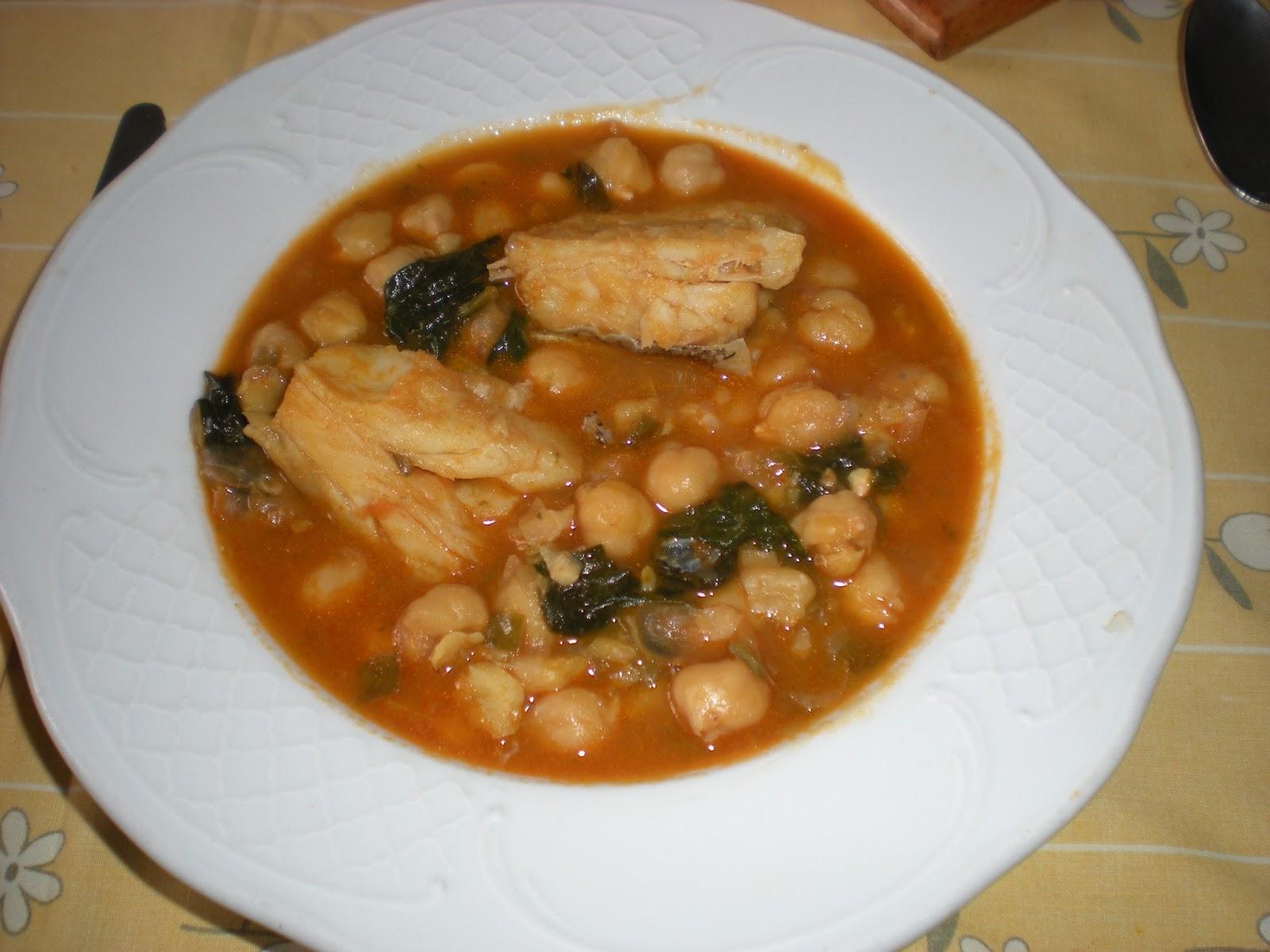 Elrincondeatalaya2 bacalao con garbanzos y espinacas - Garbanzos espinacas bacalao ...
