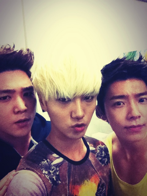 Kangin Yesung Donghae 'SMTOWN in Singapore'