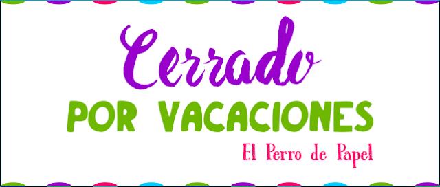 Carteles Cerrado por Vacaciones 2015